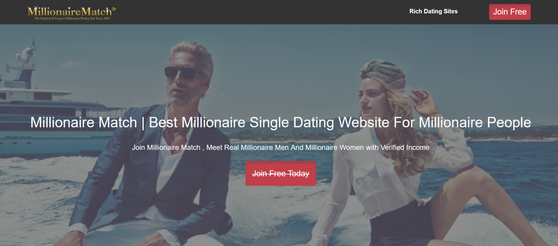 Real millionaire dating website